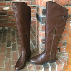Brown over the knee RIALTO Boots